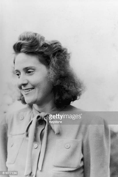 Wartime heroine of the French resistance Odette Churchill 15th February 1947