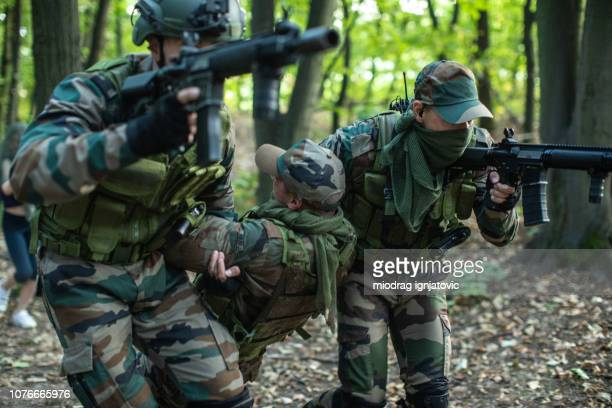 wartime - army training stock pictures, royalty-free photos & images