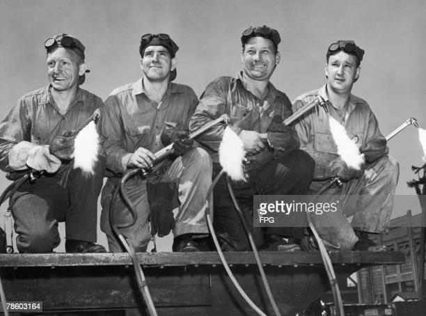 Wartime welders circa 1940