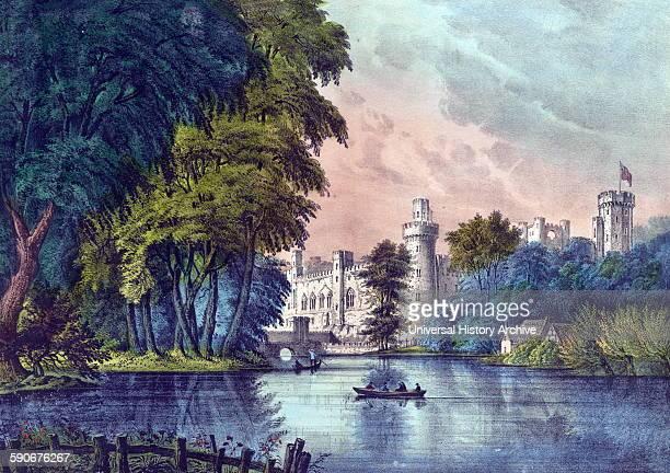 Warwick Castle England 1835