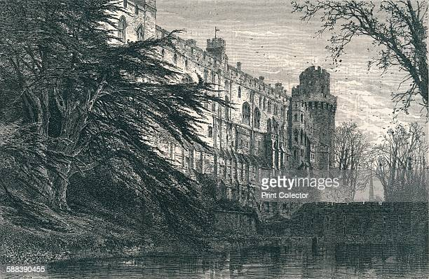 Warwick Castle from the West c19th century