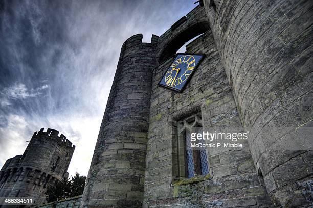 warwick castle gatehouse - warwick castle bildbanksfoton och bilder