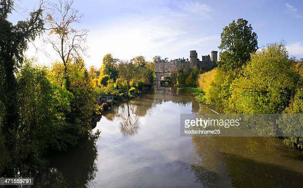 warwick castle - warwick uk stock photos and pictures