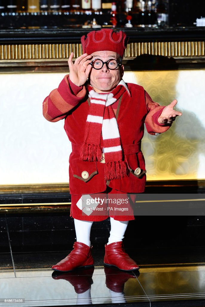 Warwick Davis as Prof at the launch of Snow White and the