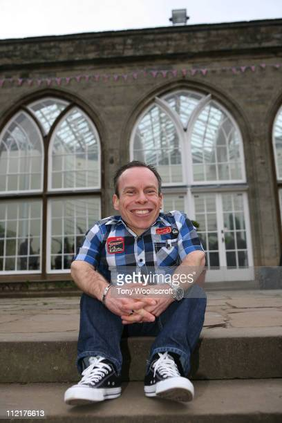 Warwick Davis attends the launch of a new attraction based on the hit BBC One drama series at Warwick Castle on April 13 2011 in Warwick Warwickshire