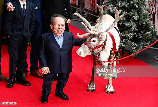 Warwick Davis attends the UK Premiere of Get Santa at Vue West End on November 30 2014 in London England