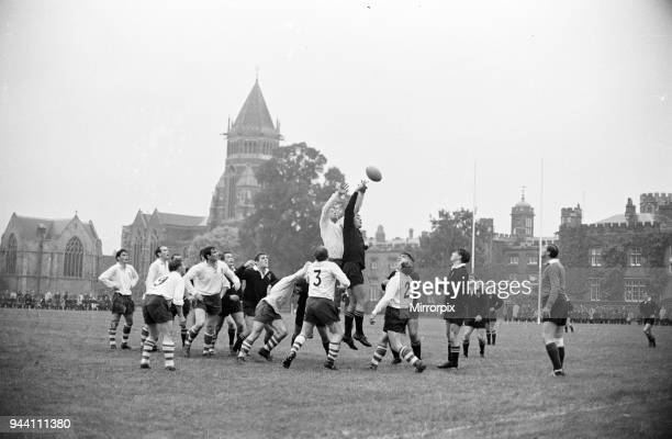 Warwick v London Wasps, Rugby Union match at Rugby School, Rugby, Warwickshire, October 1966.