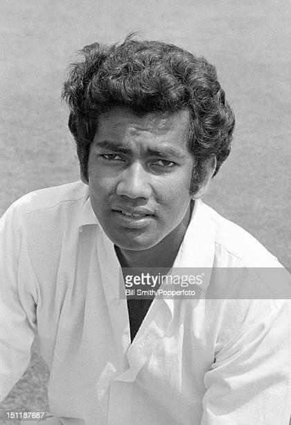 Warwickshire and West Indies cricketer Alvin Kallicharran circa July 1972