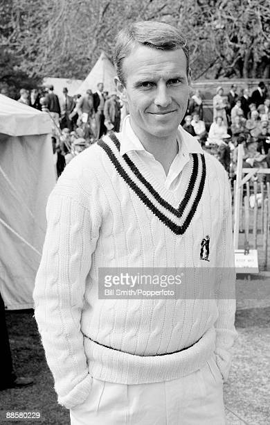 Warwickshire cricketer Alan Smith circa 1966