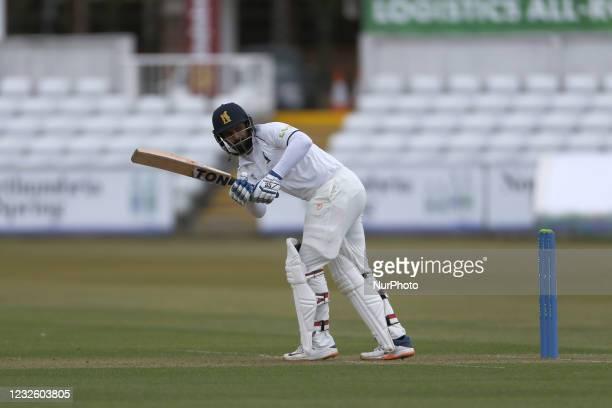 Warwickshire's Hanuma Vihari batting during the LV= County Championship match between Durham County Cricket Club and Warwickshire County Cricket Club...