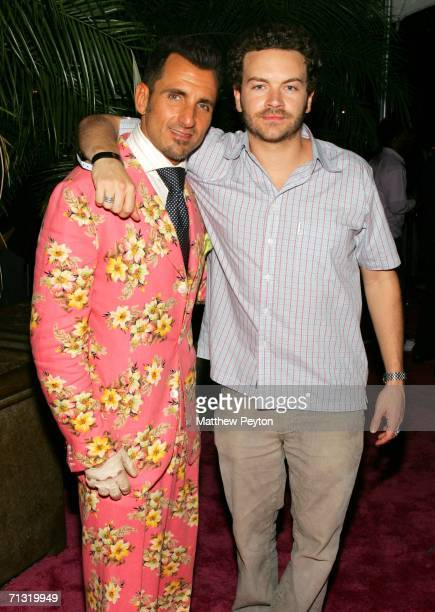 Was and actor Danny Masterson attend the TMobile Basketball's Rising Stars Celebration at Tao Restaurant on June 28 2006 in New York City