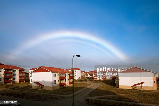 CONTENT] I was lucky to catch this very rare optical effect This isn't usual rainbow There was clear sky with no rain and the temperature was below...