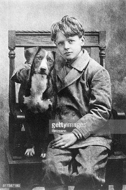 """Was seldom without a dog while living on the farm,"""" Lindbergh wrote. One of his favorites was Dingo, a white-chested, short-haired dog that seemed to..."""