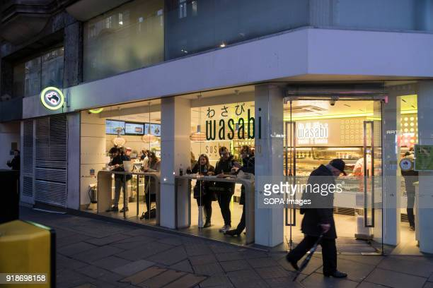 Wasabi store seen in London famous Oxford street Central London is one of the most attractive tourist attraction for individuals whose willing to...