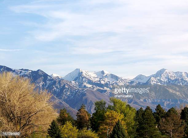 wasatch mountains by day - park city utah stock pictures, royalty-free photos & images