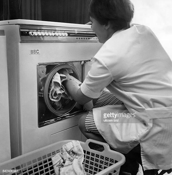 Waschmaschine der Firma BBC 1968