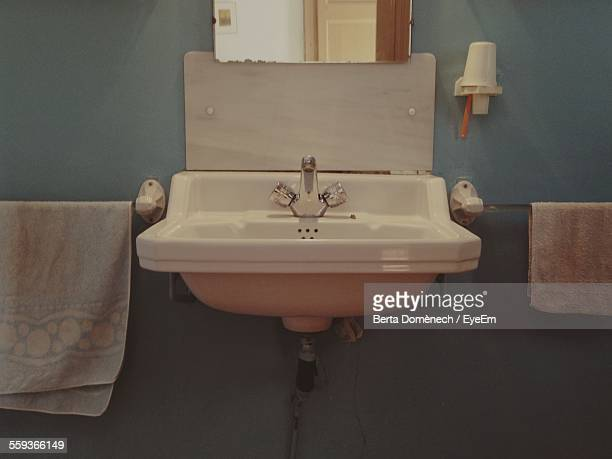 Wash Basin In Bathroom