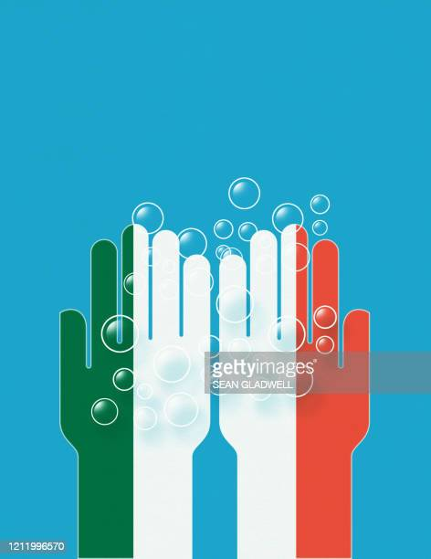 wash hands italy - italy stock pictures, royalty-free photos & images