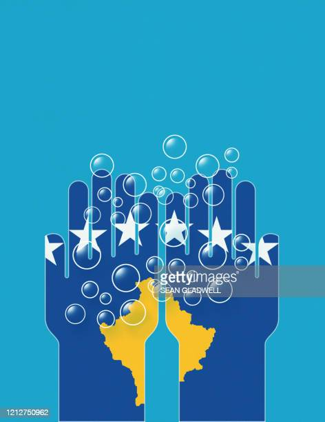 wash hands kosovo - kosovo stock pictures, royalty-free photos & images