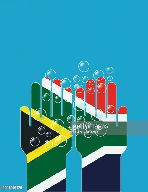 wash hands south africa - southern africa stock pictures, royalty-free photos & images