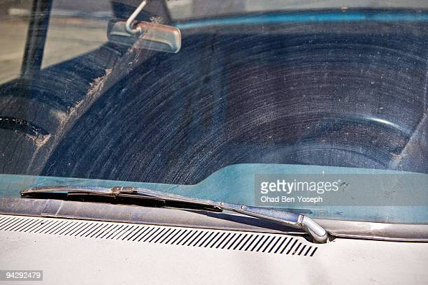 wash me - windshield wiper stock photos and pictures