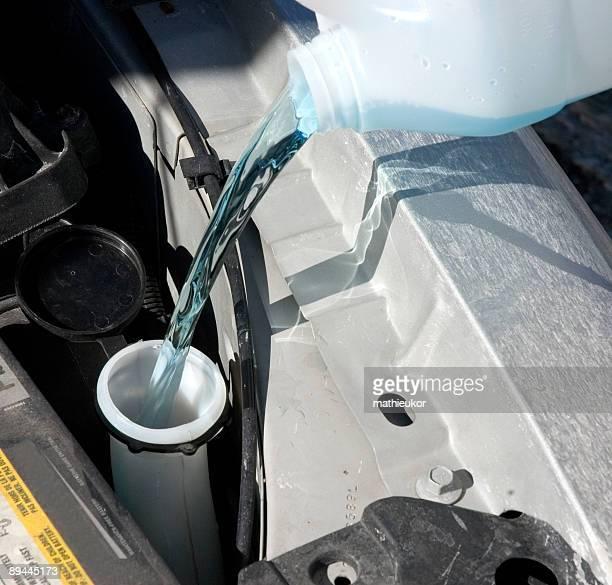 Washer fluid filling