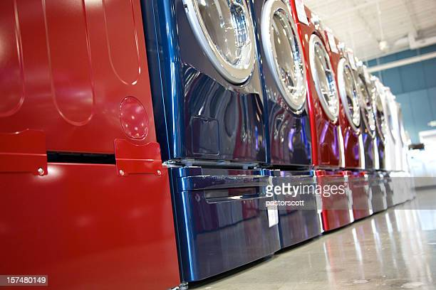 washers and dryers - appliance stock pictures, royalty-free photos & images