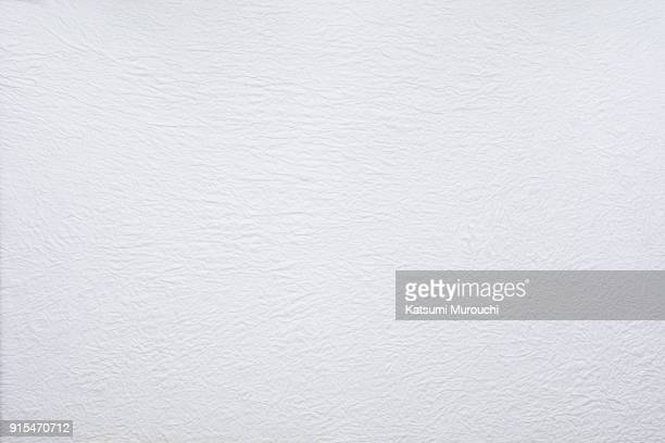 washi white paper texture background - en papier photos et images de collection