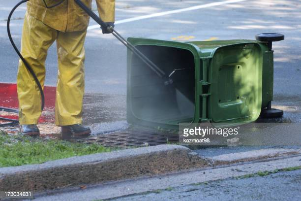 Washing A Green Bin Series