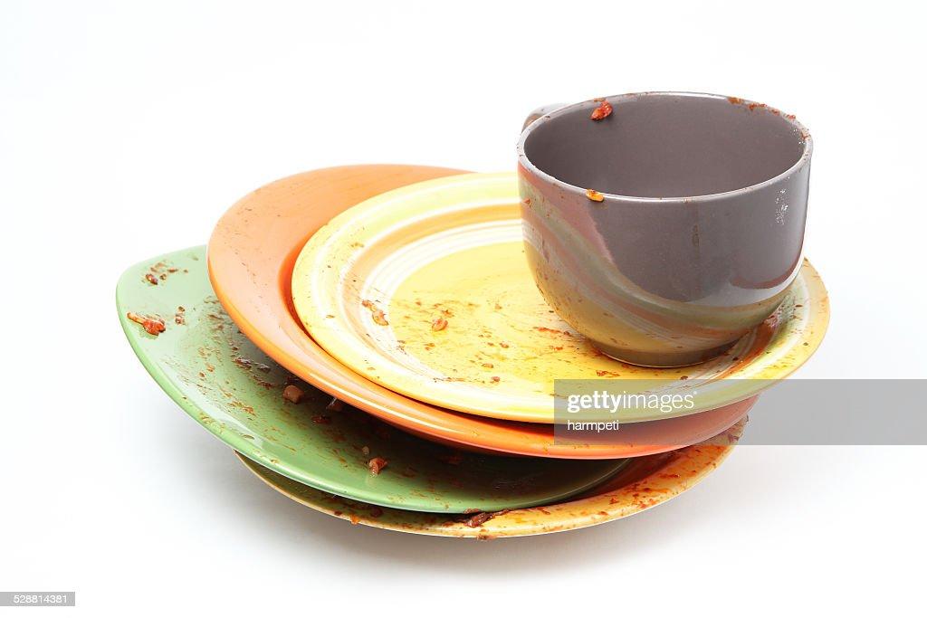 Washing Dishes : Stock Photo