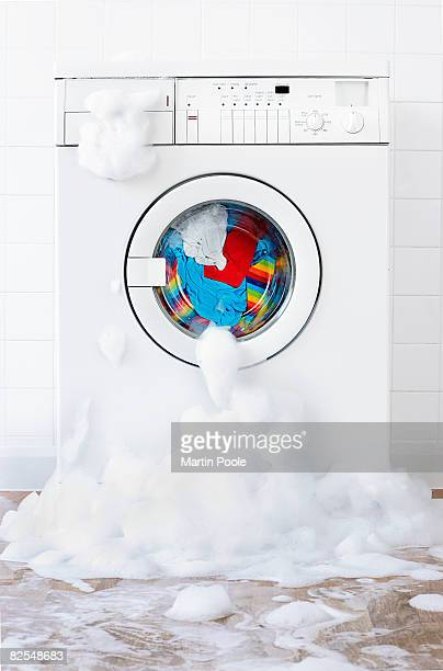 washing machine leaking , in laundry room