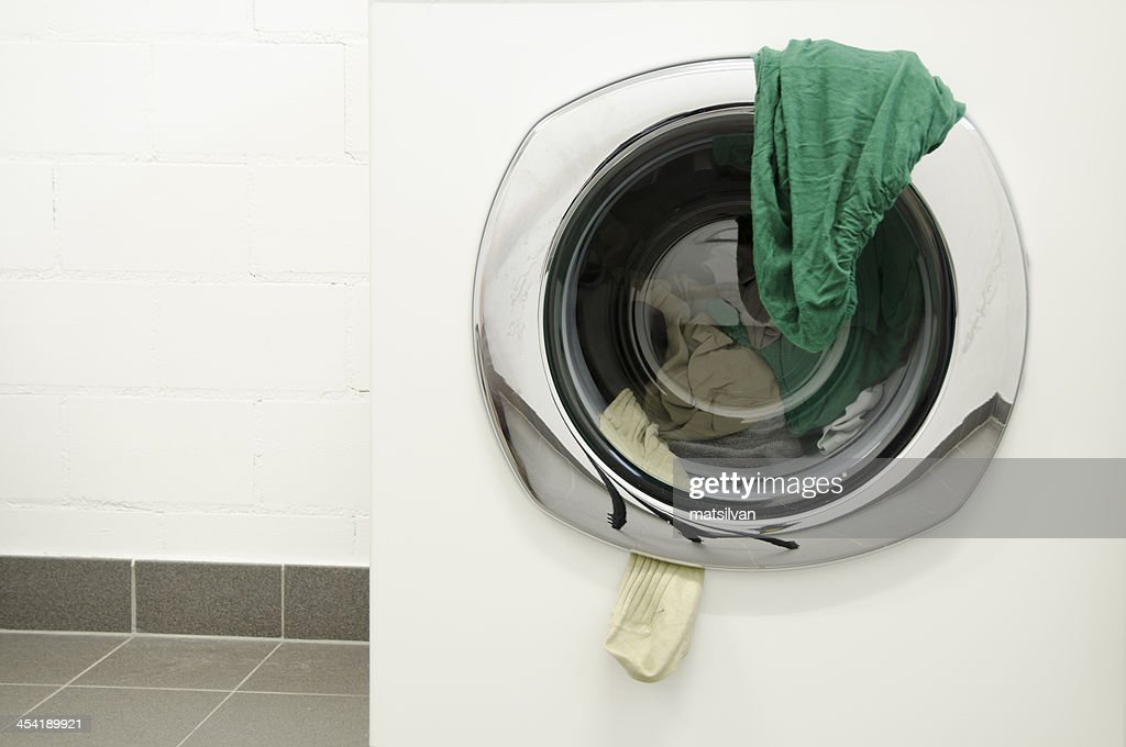 Washing machine : Stock Photo
