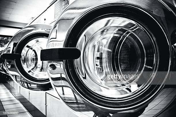 Les machines à laver le linge-machine à laver la porte à un public laverie automatique