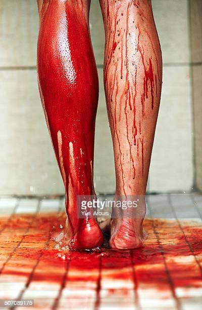 washing the evidence away - self harm stock photos and pictures