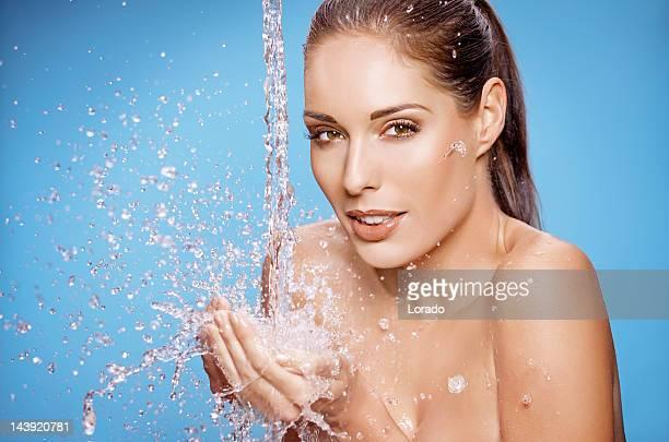 Waschen Frau