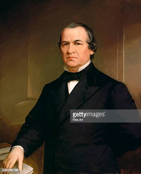 Washington Bogart Cooper , Portrait of Andrew Johnson, after 1866, oil on canvas, 91.8 x 74.3 cm , National Portrait Gallery, Washington, D.C.