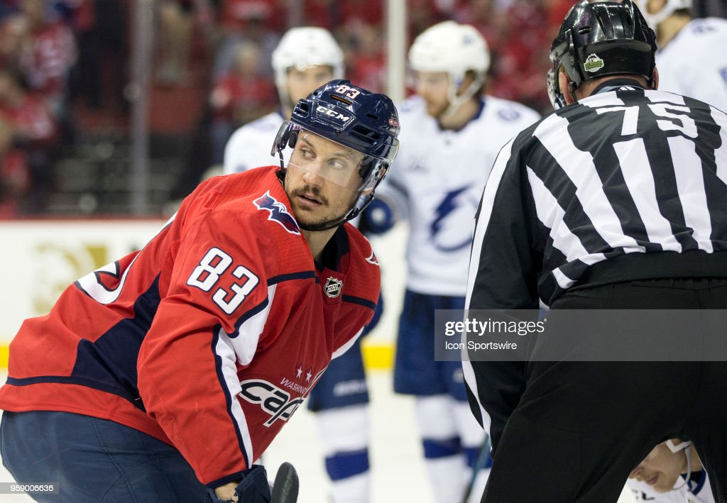 NHL  MAY 15 Stanley Cup Playoffs Eastern Conference Finals Game 3 -  Lightning at Capitals 873a413ee8f