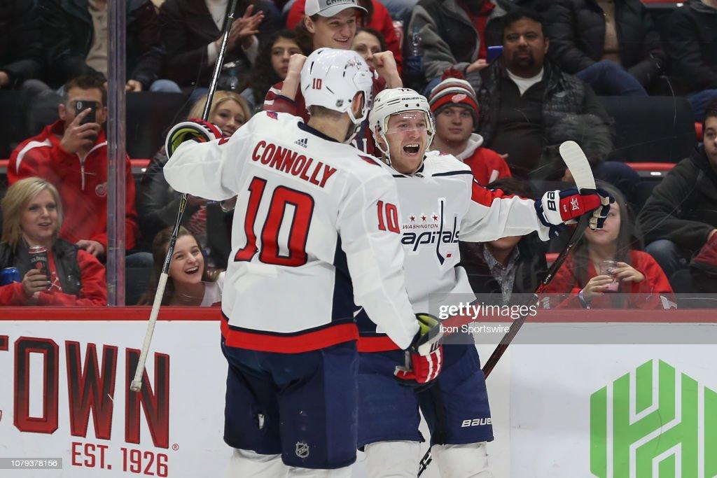 NHL  JAN 06 Capitals at Red Wings   News Photo a4f5b013c53