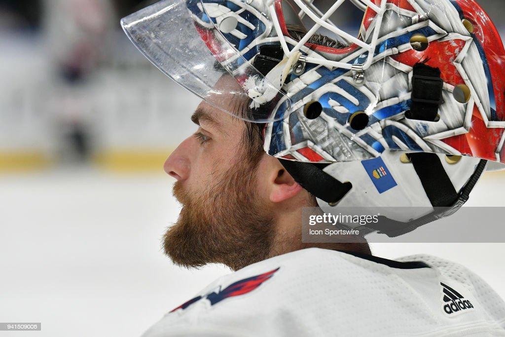 NHL: APR 02 Capitals at Blues : News Photo