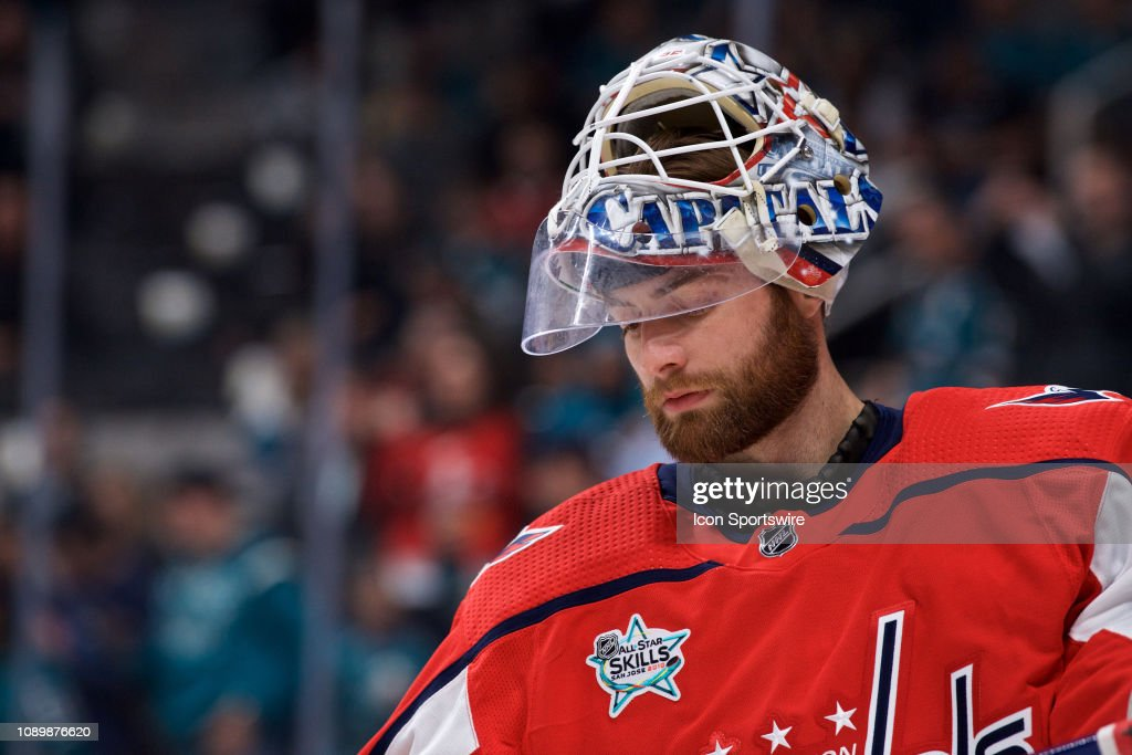 Washington Capitals Goaltender Braden Holtby At The Nhl All Star News Photo Getty Images