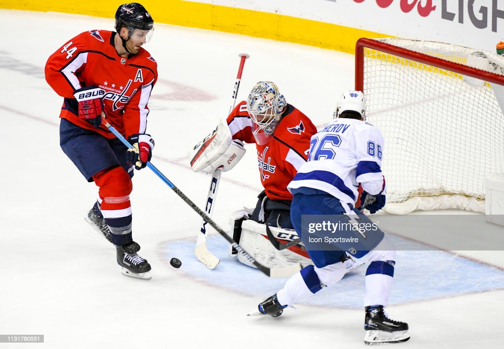 NHL: MAR 20 Lightning at Capitals : News Photo