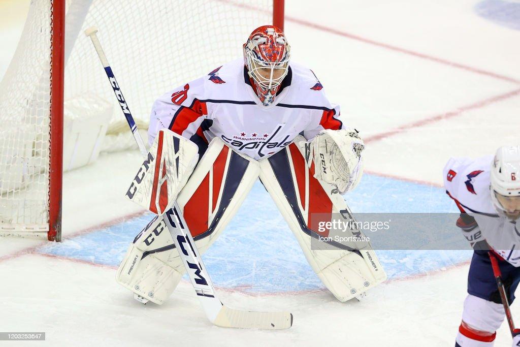 NHL: FEB 22 Capitals at Devils : News Photo