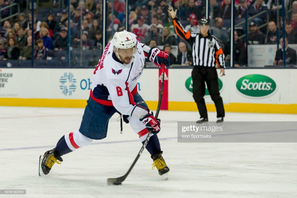 NHL: DEC 08 Capitals at Blue Jackets : News Photo