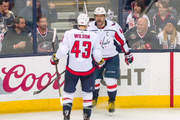 d4692f242 NHL  APR 23 Stanley Cup Playoffs First Round Game 6 - Capitals at Blue  Jackets