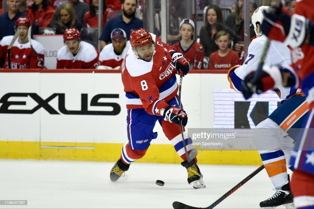 NHL: APR 06 Islanders at Capitals : News Photo