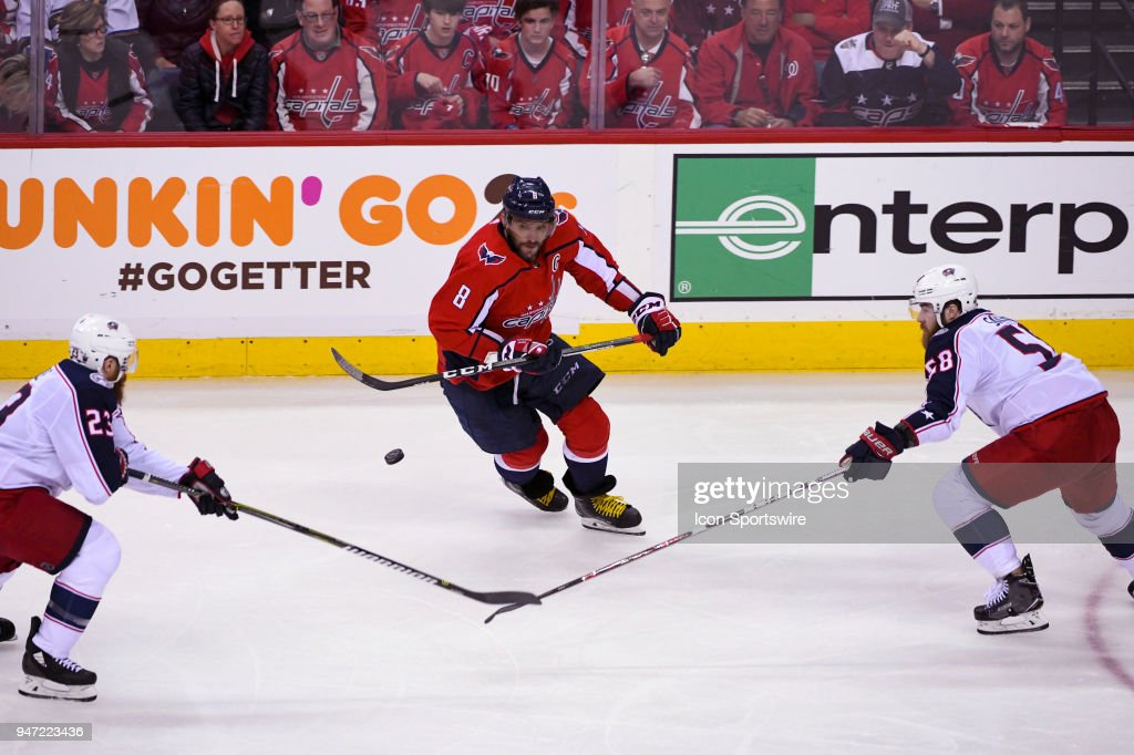 Washington Capitals left wing Alex Ovechkin (8) skates in the second period  against Columbus 7fc9e90529b8