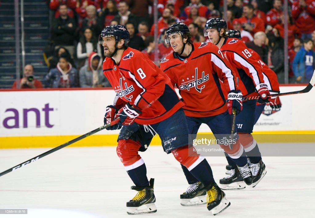 NHL: JAN 22 Sharks at Capitals : News Photo