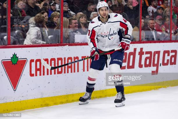f3285db40 Washington Capitals Right Wing Tom Wilson along the boards during third  period National Hockey League action