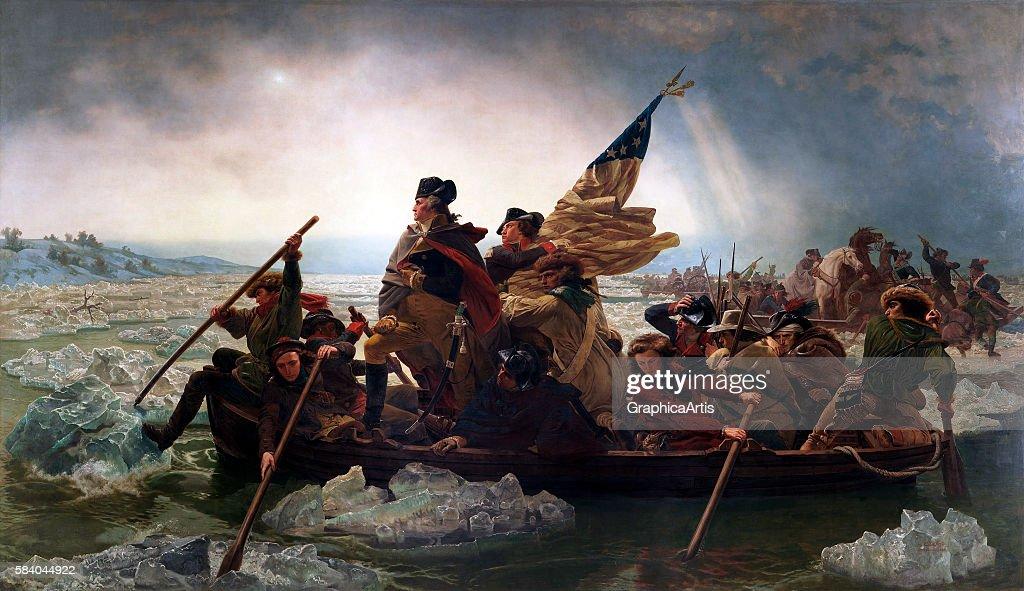 Washington Crossing Delaware : News Photo