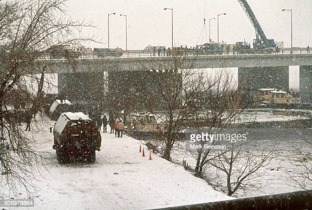 Washington DC 1141982 On January 13 Air Florida Flight 90 crashed into Washington DC's 14th Street Bridge and fell into the Potomac River shortly...